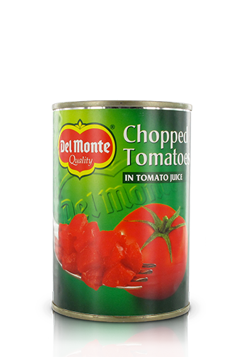 Del Monte Europe Chopped Tomatoes in Tomato Juice